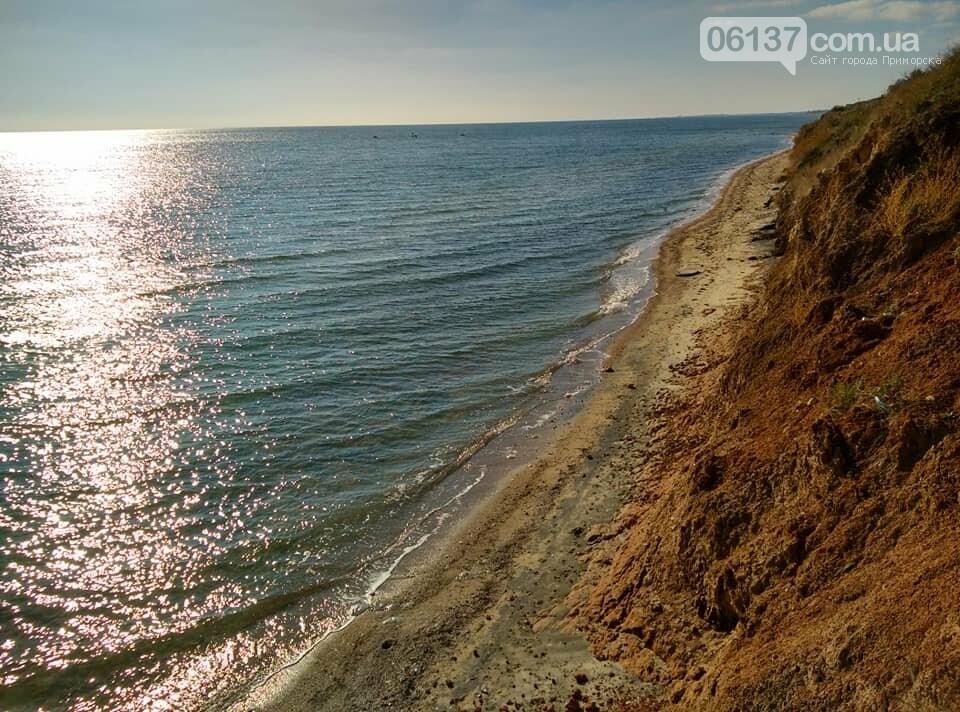 Красота ноябрьского моря в Запорожской области от заката до рассвета. Приморск. Обиточная коса , фото-9