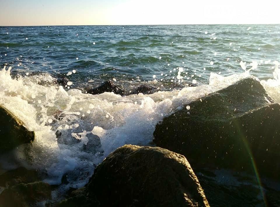 Красота ноябрьского моря в Запорожской области от заката до рассвета. Приморск. Обиточная коса , фото-13