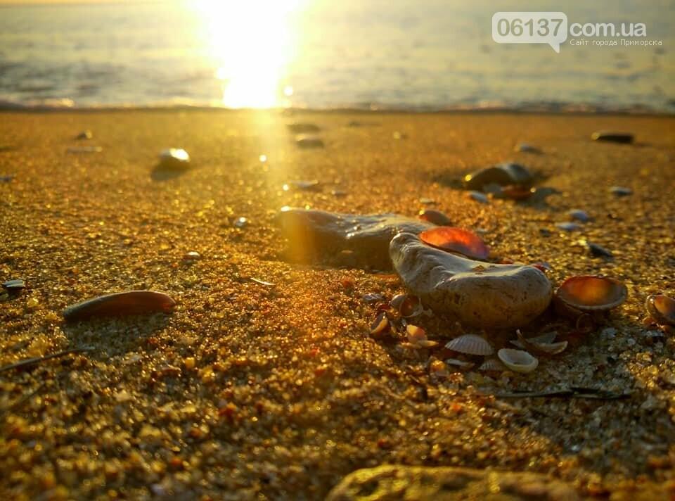 Красота ноябрьского моря в Запорожской области от заката до рассвета. Приморск. Обиточная коса , фото-18