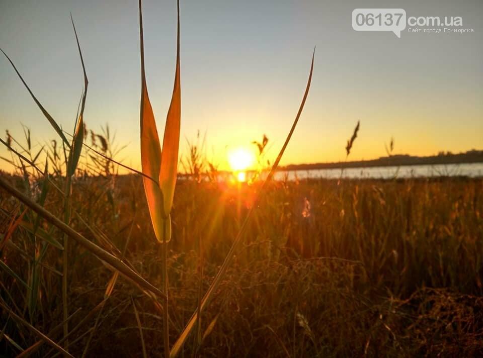 Красота ноябрьского моря в Запорожской области от заката до рассвета. Приморск. Обиточная коса , фото-22