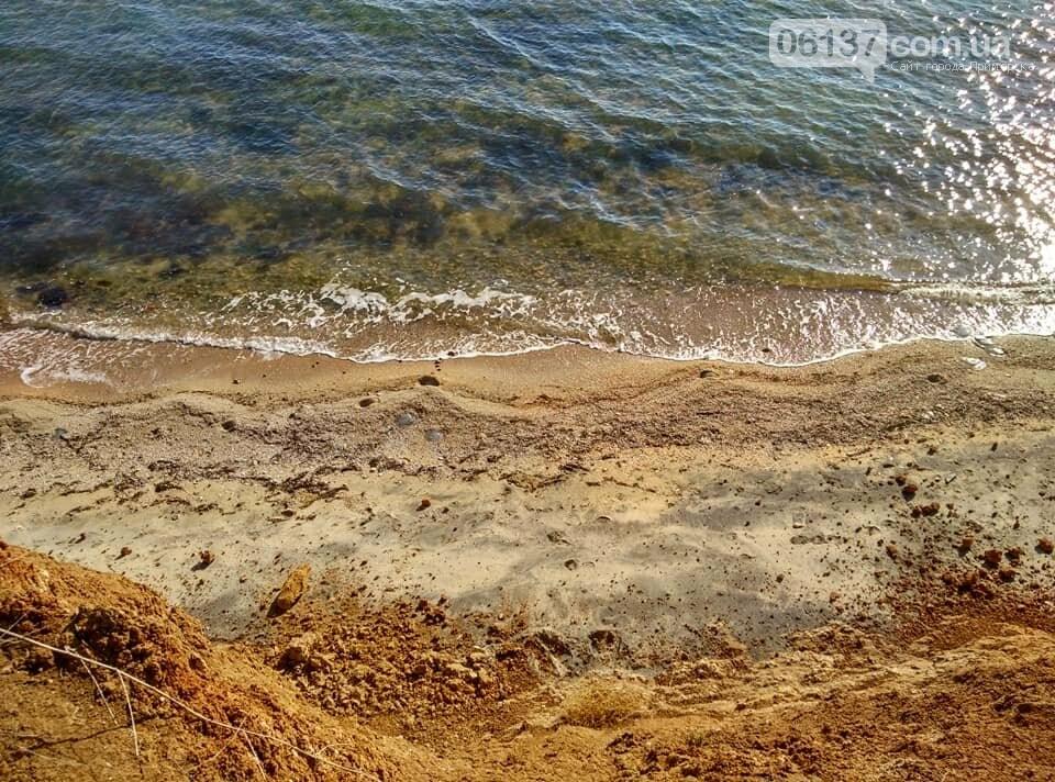 Красота ноябрьского моря в Запорожской области от заката до рассвета. Приморск. Обиточная коса , фото-28