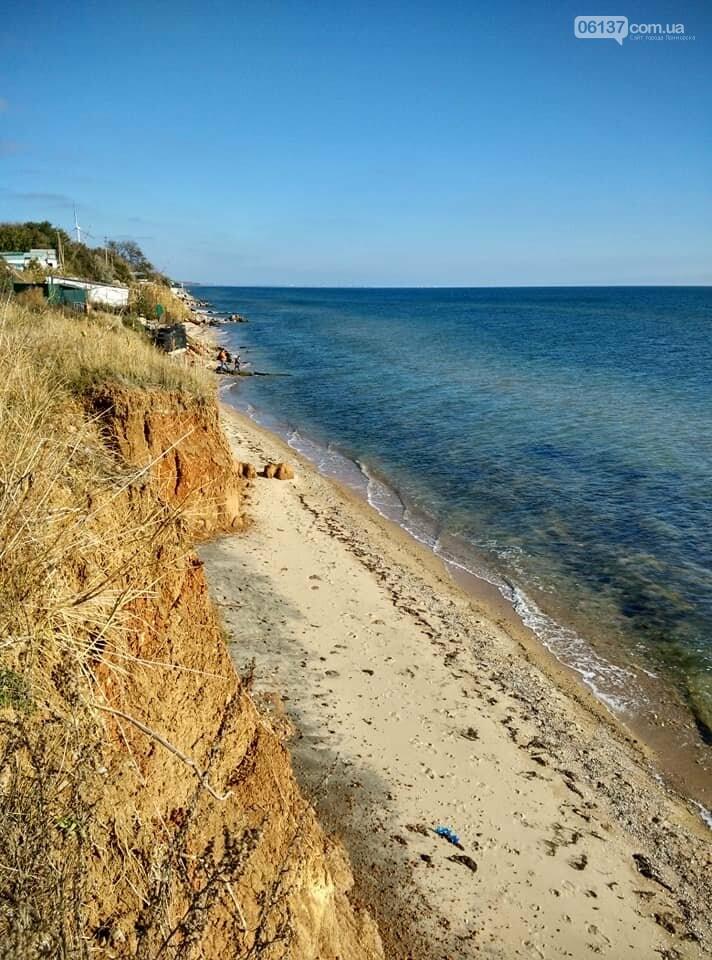 Красота ноябрьского моря в Запорожской области от заката до рассвета. Приморск. Обиточная коса , фото-42