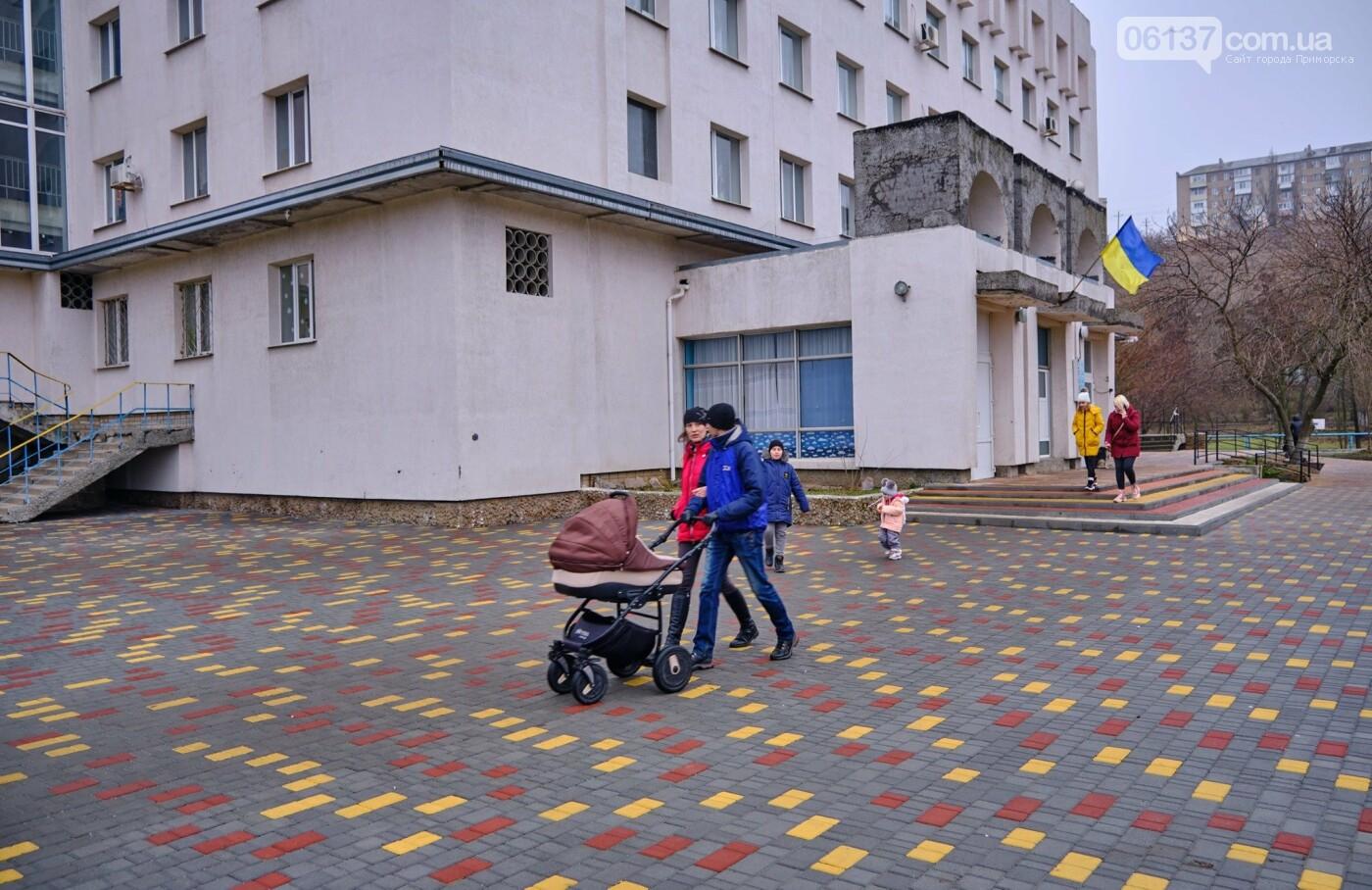 Цветная тротуарная плитка от