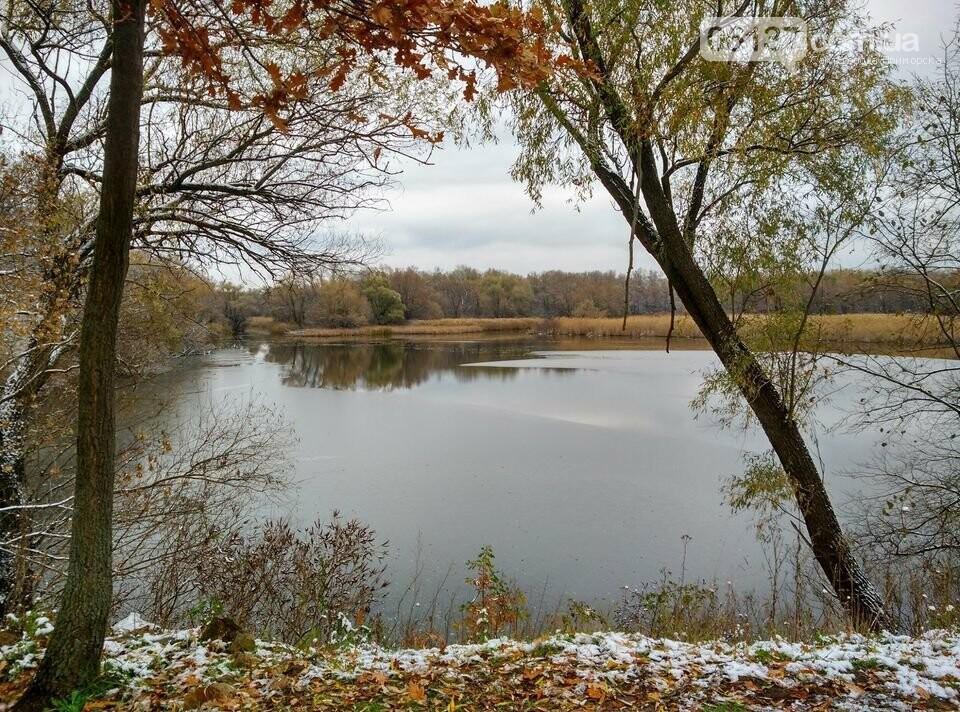 Первый снег на Хортице - вдохновение. Фото, фото-14