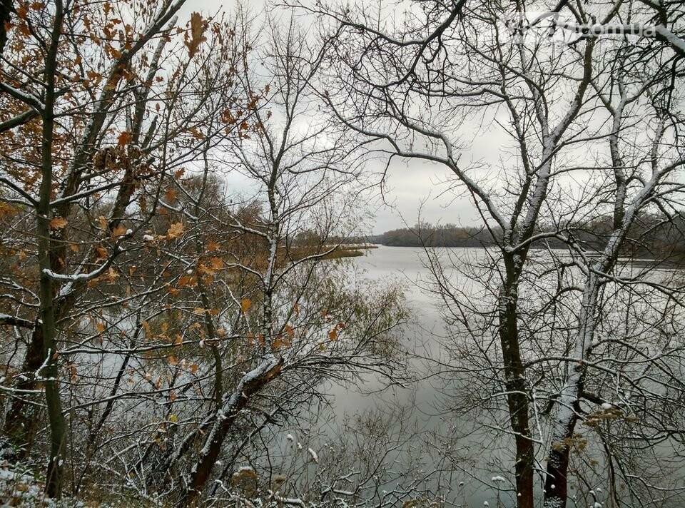 Первый снег на Хортице - вдохновение. Фото, фото-16