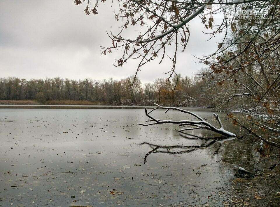 Первый снег на Хортице - вдохновение. Фото, фото-33