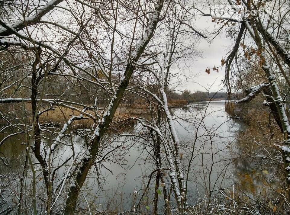 Первый снег на Хортице - вдохновение. Фото, фото-31