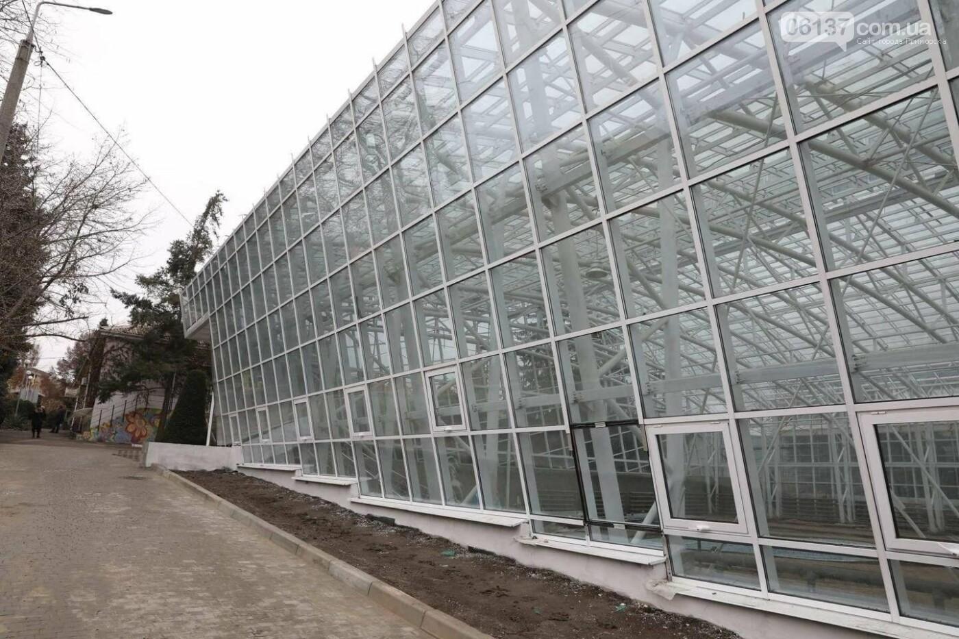 В запорожском ботсаду появилась новая оранжерея. Фото, фото-2