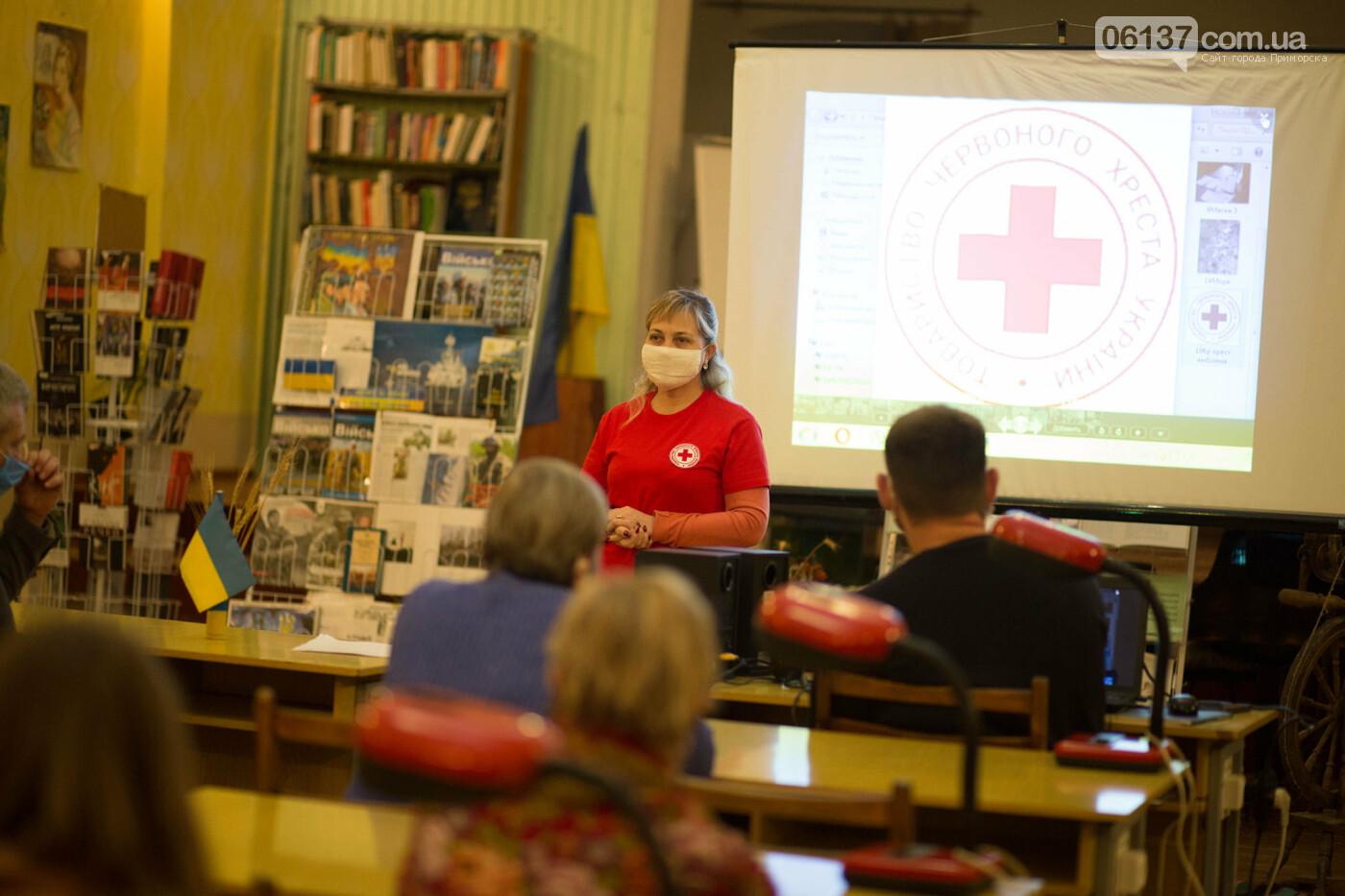 В Приморську  пройшли установчі збори Приморської первинної організації Товариства Червоного Хреста України, фото-2