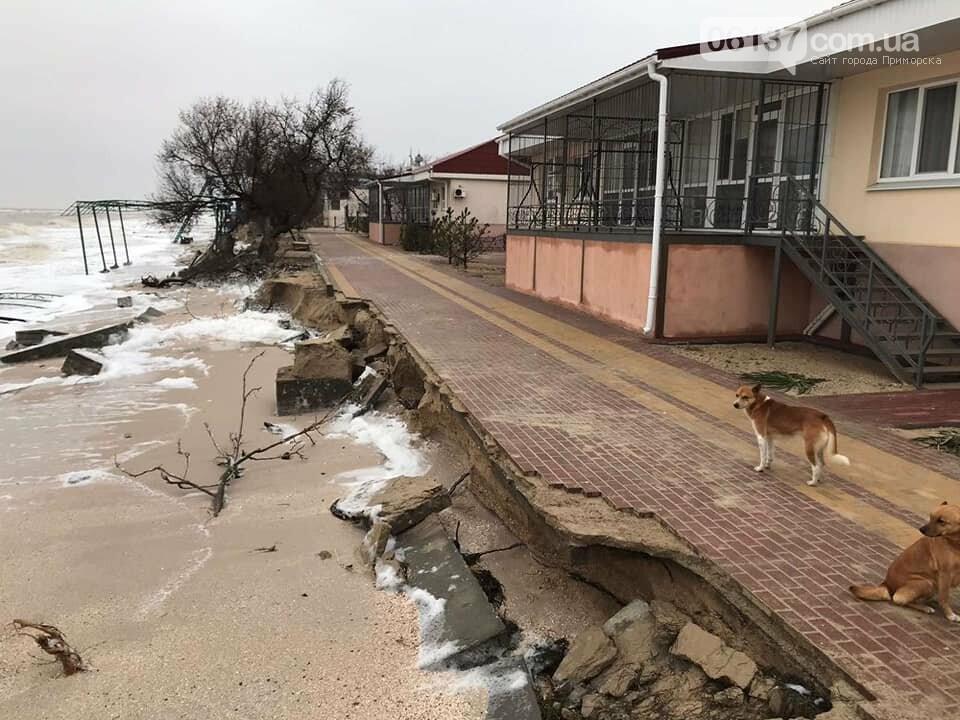 В сети появились новые кадры жутких последствий шторма на запорожском курорте. Фото , фото-8