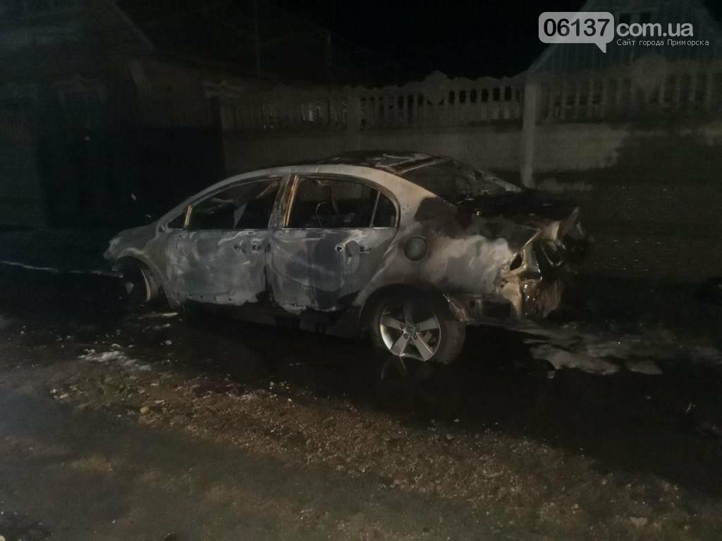 Этой ночью в Запорожье горели автомобили. Фото, фото-2