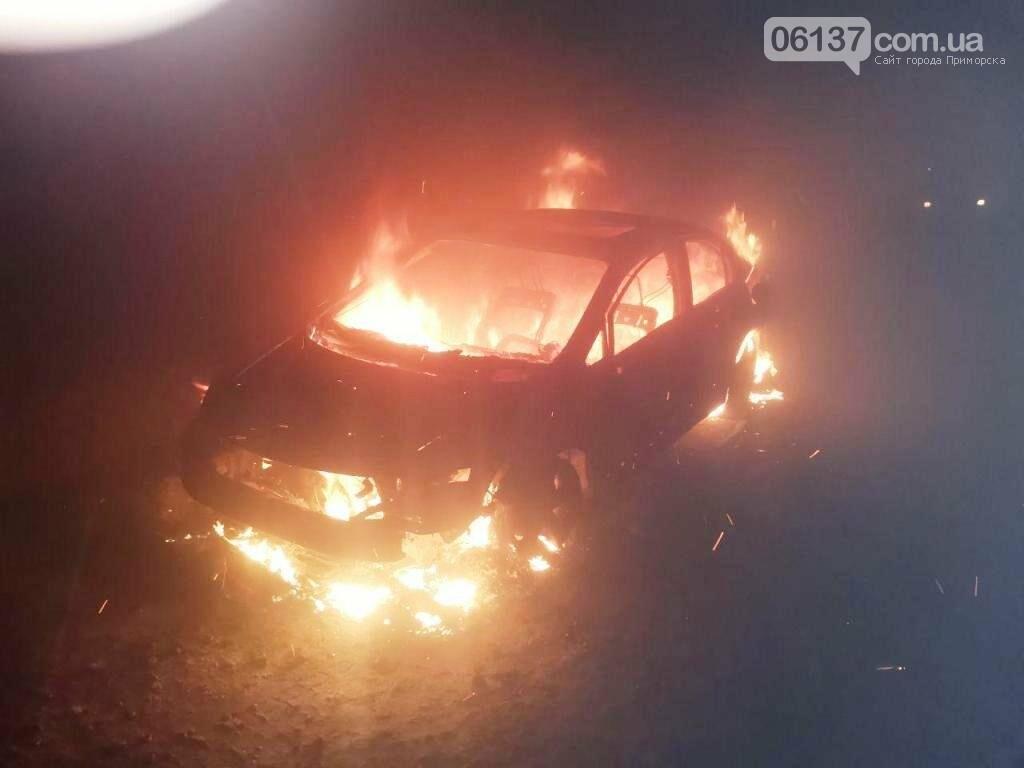Этой ночью в Запорожье горели автомобили. Фото, фото-3