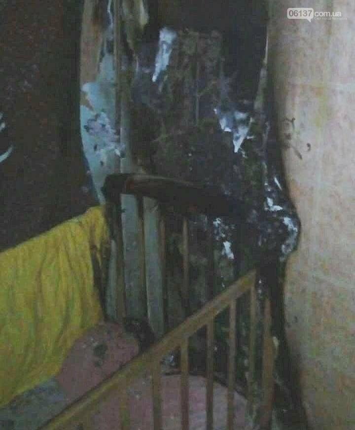 Запорожские спасатели рассказали о пожаре, в котором сильно пострадал ребенок. Фото  , фото-1