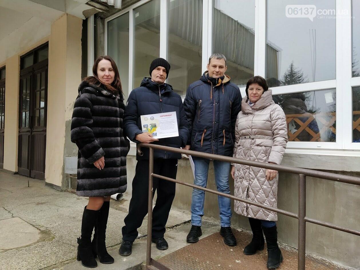 """""""Агенти з доступності"""" у Приморську надали сертифікати та рекомендації  щодо пандусів , фото-2"""