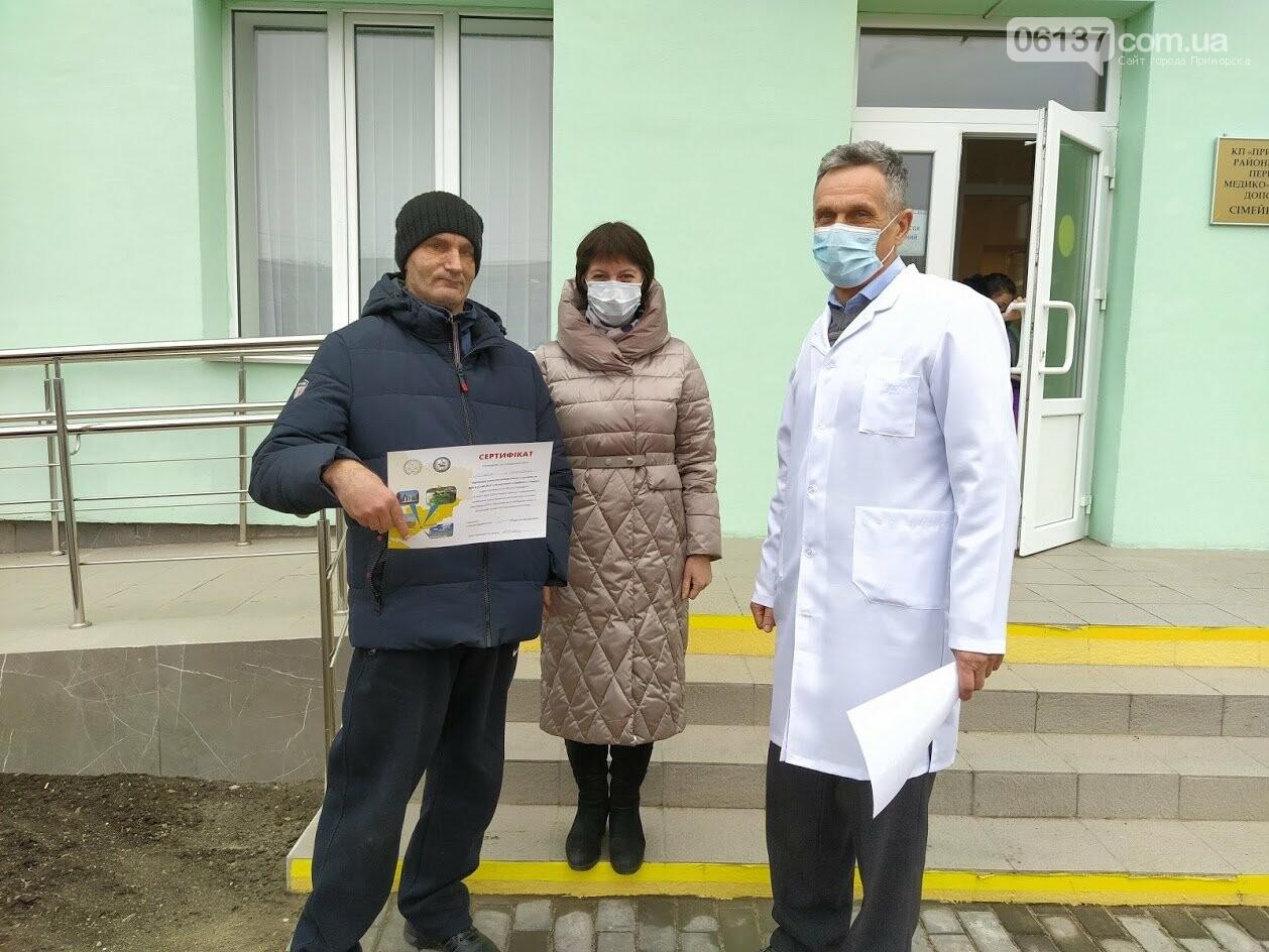 """""""Агенти з доступності"""" у Приморську надали сертифікати та рекомендації  щодо пандусів , фото-3"""