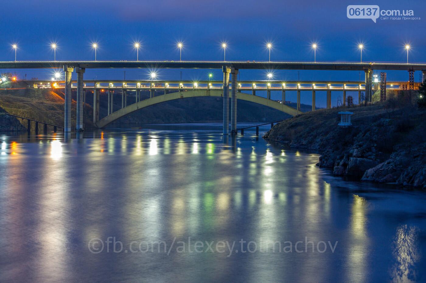 Запорожский фотограф опубликовал эпохальное фото нового моста. Фото , фото-1