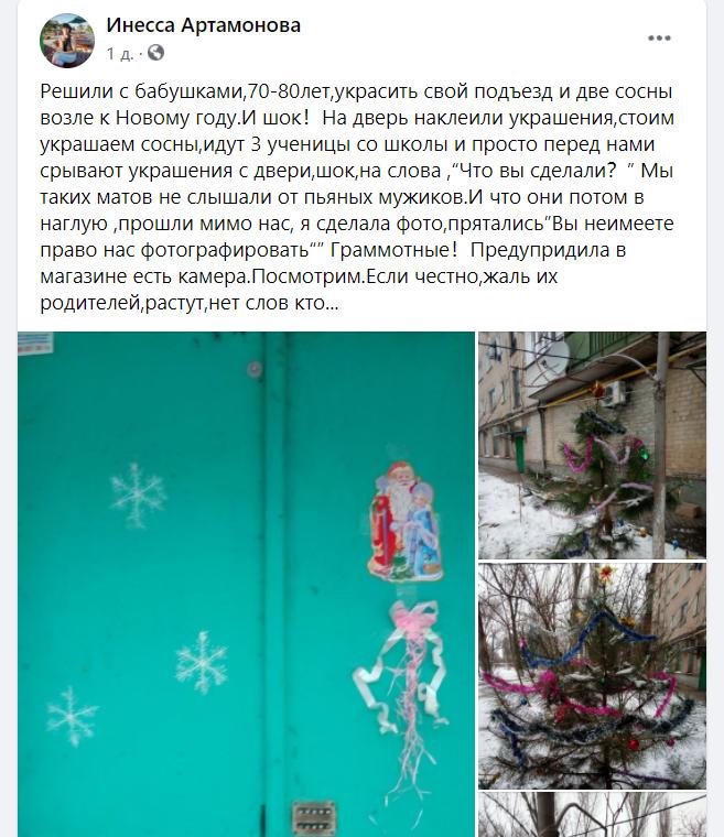 Новогодний украшения соблазняют воришек Запорожской области , фото-1