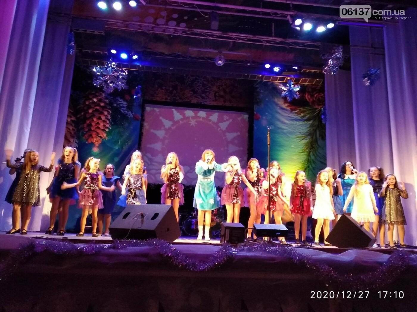 """Цієї неділі 27 грудня  мешканці Приморська отримали чудовий """"Новорічний настрій"""", фото-2"""
