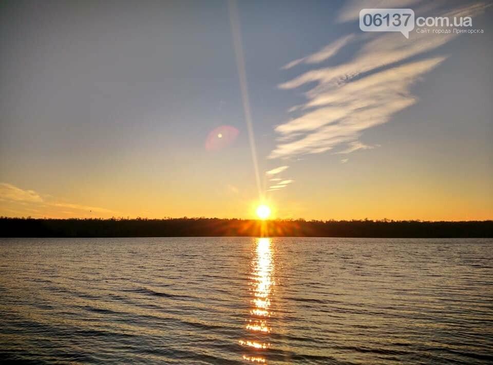 Иней, лед и солнце: живописные выходные в Запорожье. Фото , фото-5