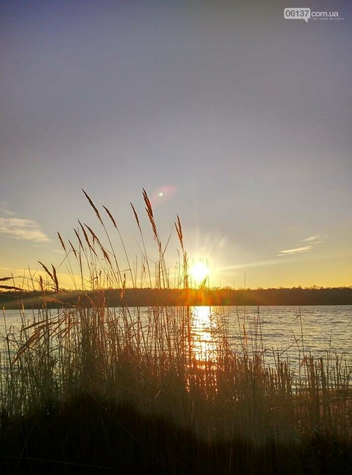 Иней, лед и солнце: живописные выходные в Запорожье. Фото , фото-6