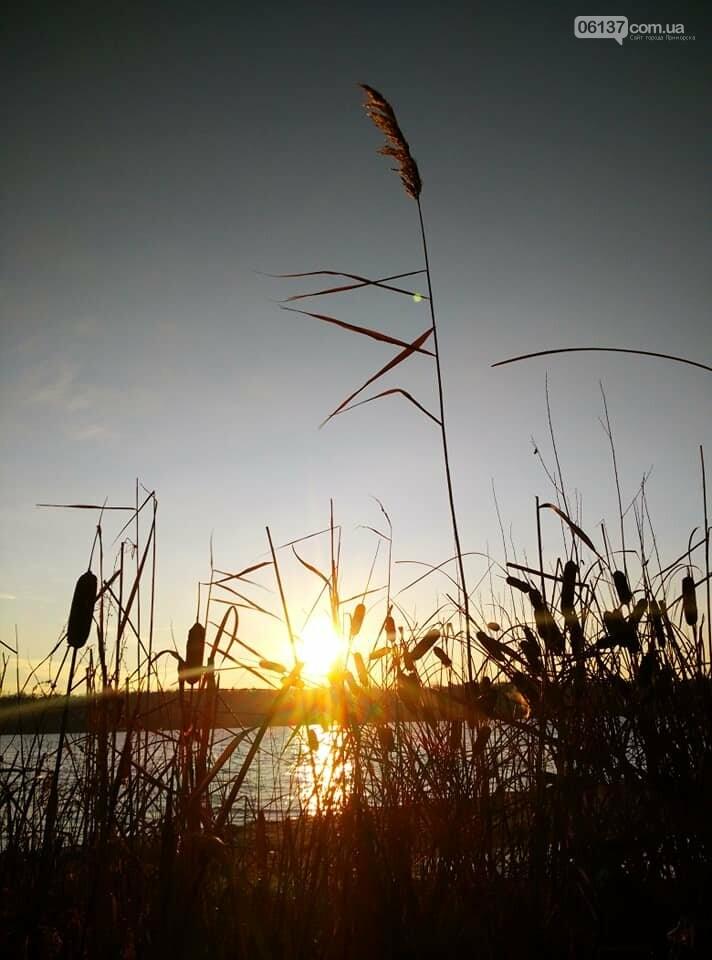 Иней, лед и солнце: живописные выходные в Запорожье. Фото , фото-12
