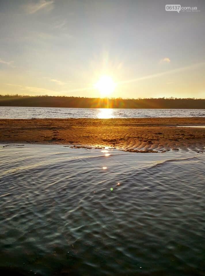 Иней, лед и солнце: живописные выходные в Запорожье. Фото , фото-10
