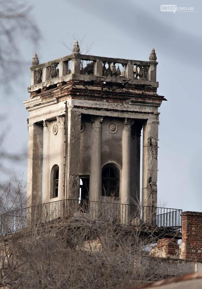 Самая старая запорожская башня полностью развалилась. Фоторепортаж , фото-1