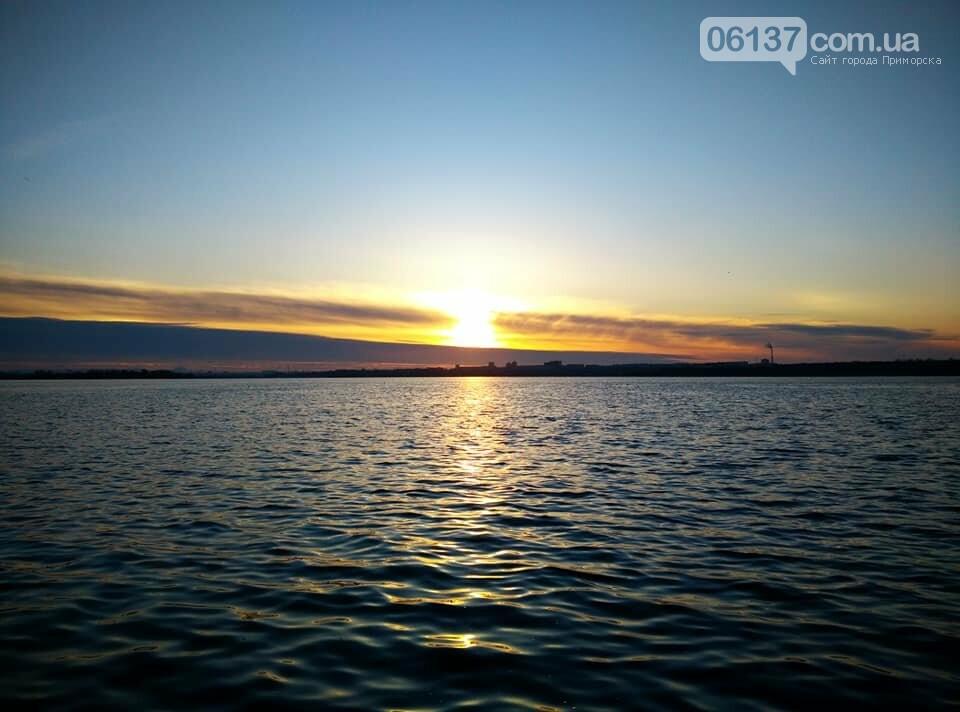 Солнце и лед: рассвет и закат на выходных в Запорожье. Фото  , фото-12