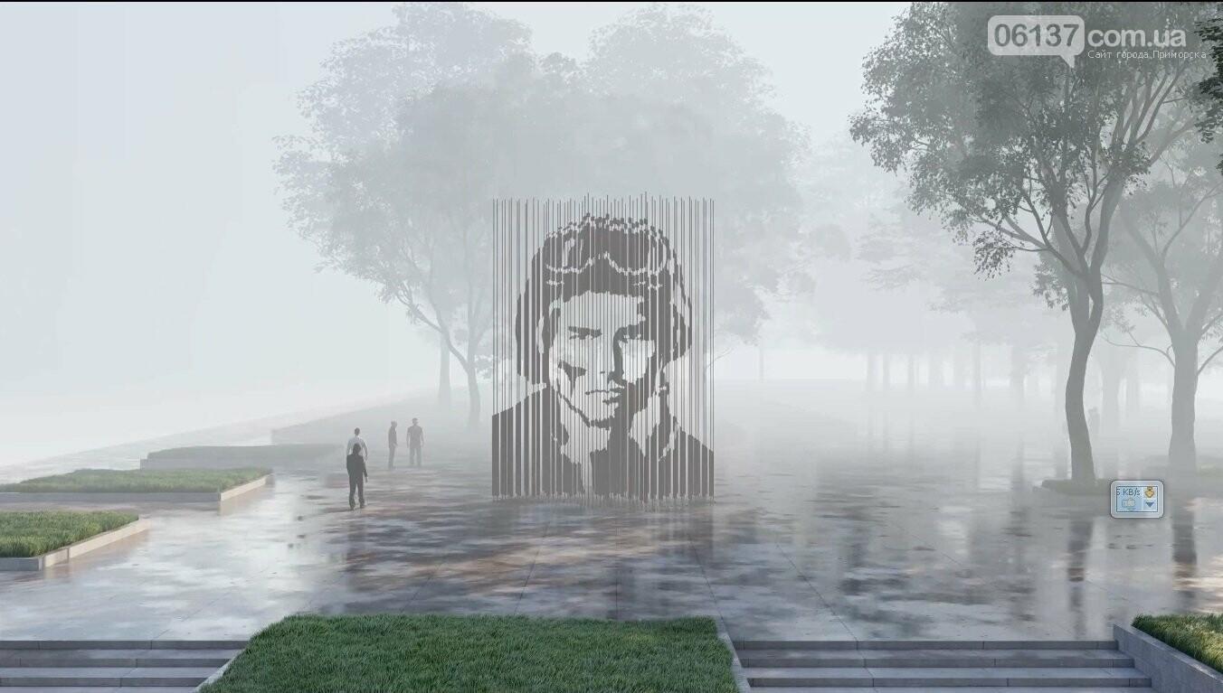 В Запорожье автору лучшего мемориала защитникам выплатят 100 тыс. грн, фото-2