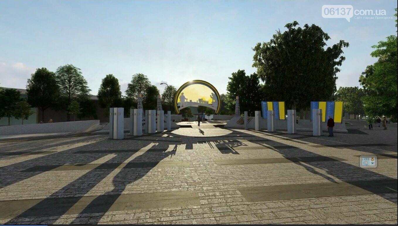 В Запорожье автору лучшего мемориала защитникам выплатят 100 тыс. грн, фото-3