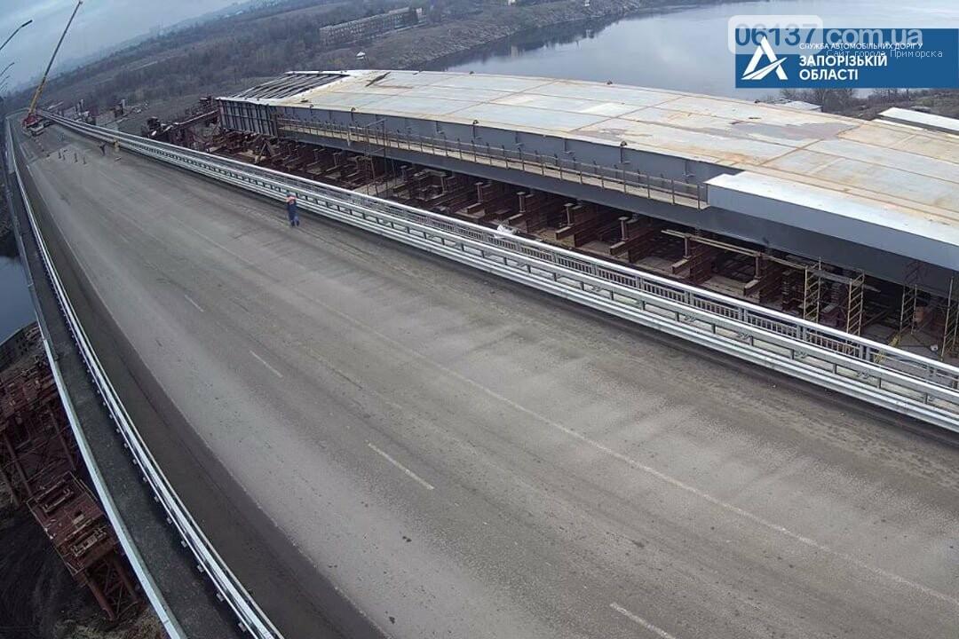 На новом мосту в Запорожье ограничили движение. Фото , фото-3
