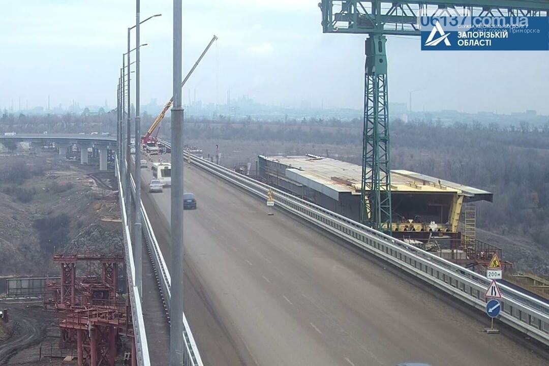 На новом мосту в Запорожье ограничили движение. Фото , фото-4