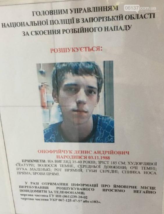 Полиция Запорожской области разыскивает четверых преступников, фото-1
