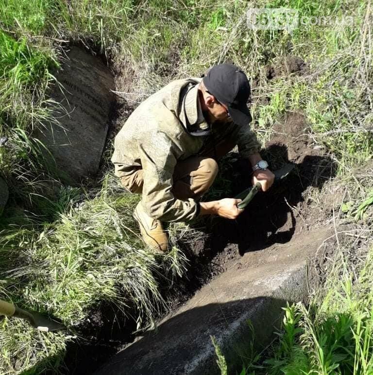 В Запорожской области найдено надгробие основателя меннонитского поселения. Фото, фото-5