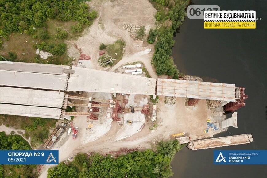 Запорожский мост готовят к третьему этапу надвижки. Фото, фото-4