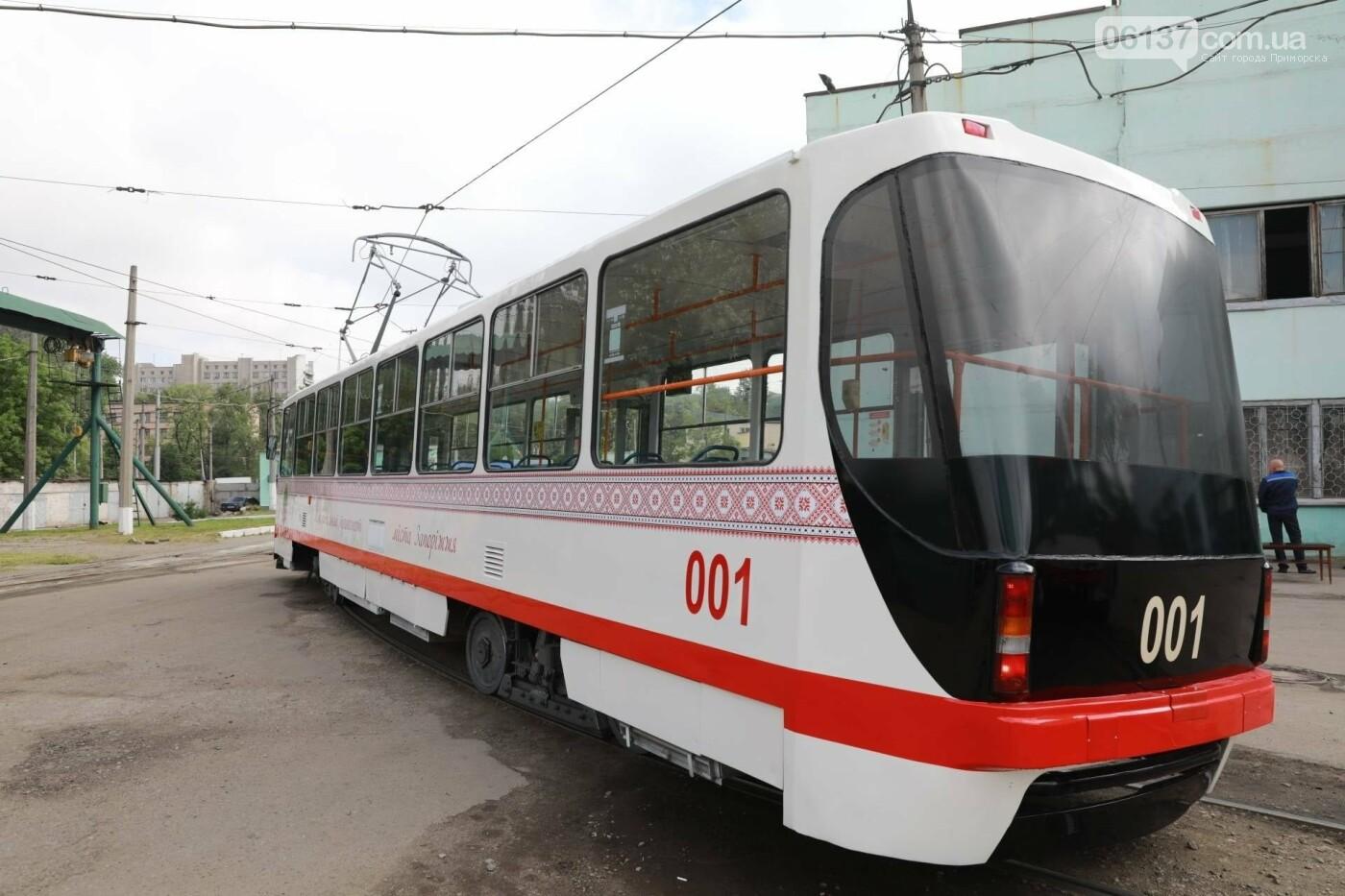 В Запорожье запустили еще один европейский трамвай. Фото, фото-3