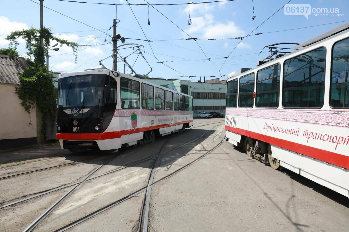 В Запорожье запустили еще один европейский трамвай. Фото, фото-6