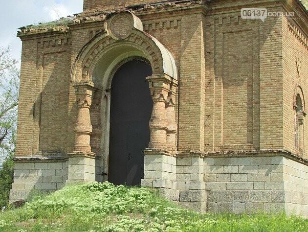 На Запоріжжі реставрують старовинний храм. Фото/Відео , фото-1