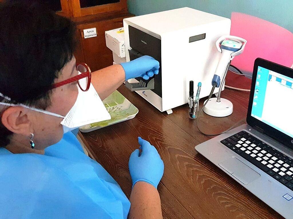В лаборатории Бердянского ТМО провели первый ПЛР-исследование..., фото-4, В лаборатории Бердянского ТМО провели первый ПЛР-исследование на SARS-CoV-2