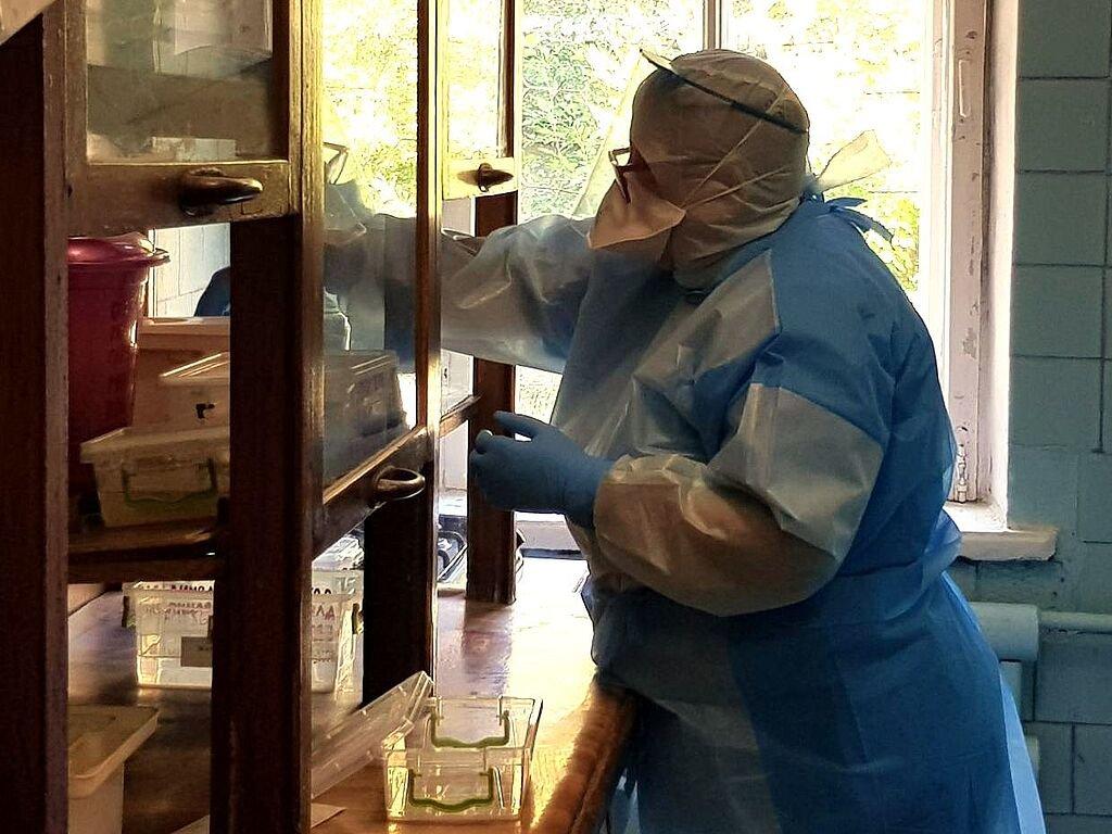 В лаборатории Бердянского ТМО провели первый ПЛР-исследование..., фото-6, В лаборатории Бердянского ТМО провели первый ПЛР-исследование на SARS-CoV-2